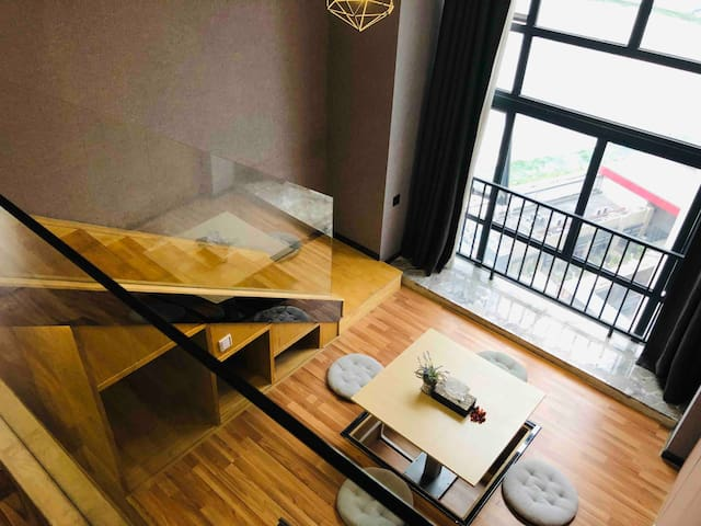 长隆星汇自助公寓家庭大床房