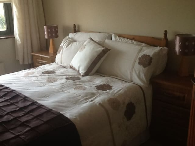 Double bed- private room.