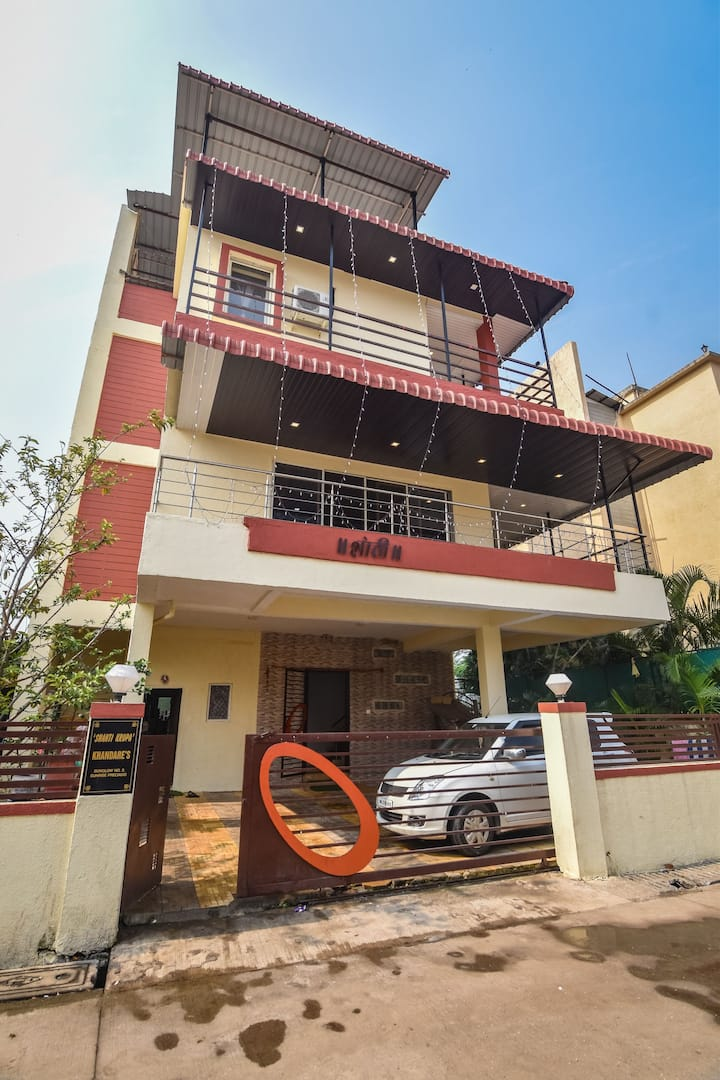 officers choice luxury 4bhk private pool villa/ac/