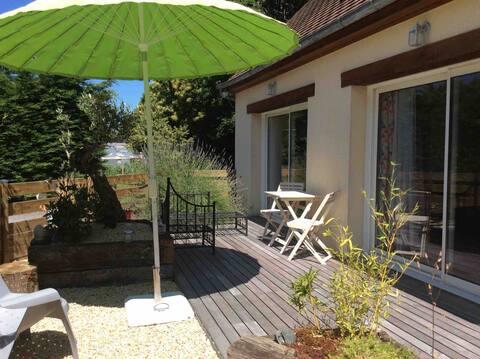 Petite maison 20 km Deauville/Trouville/Honfleur