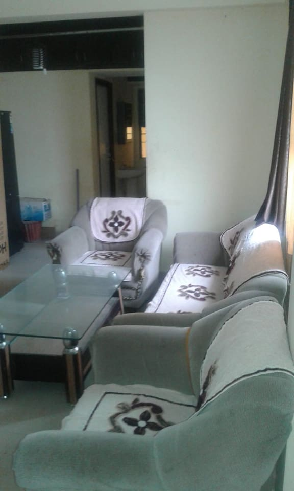 Couch and centre Table