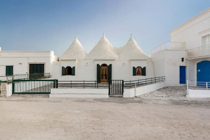 740 Trulli in Savelletri with Sea View - Fasano - House