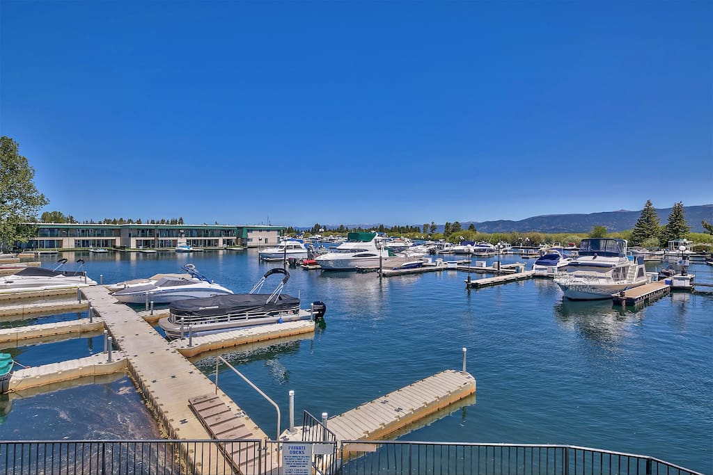 Bring your boat! This condo comes with the use of a boat slip - up to 25'