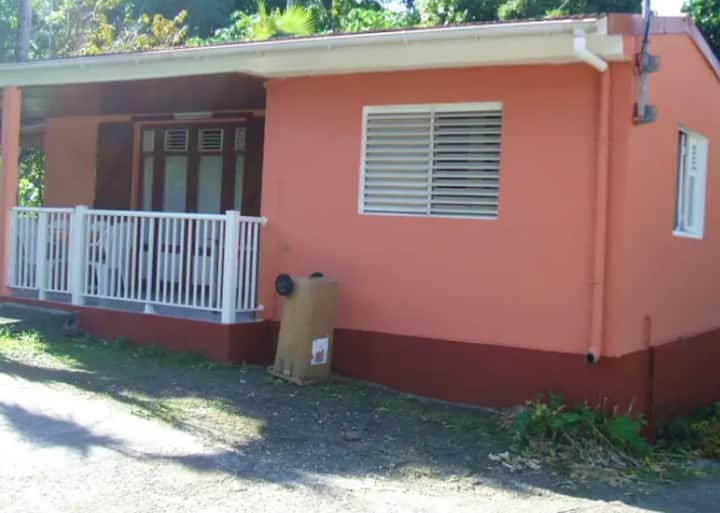 House with 2 bedrooms in Bouillante, with wonderful mountain view and furnished terrace - 2 km from the beach