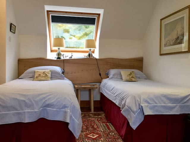 The Hare Room at The Grey Hen near Glen Affric