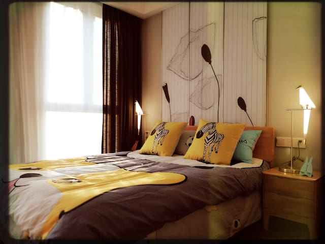 """""""观潮""""-扬州古运河畔""""奇幻动物世界""""公寓-近东关街、个园、何园"""