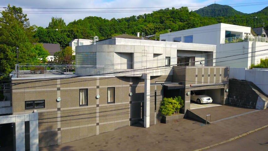 Luxurious villa in Sapporo