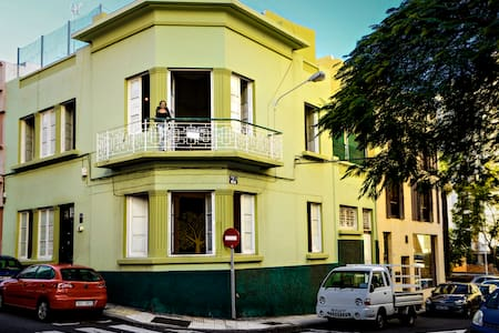 BONITA HABITACION EN CASA COLONIAL2•SANTACRU•CENTR - Santa Cruz de Tenerife - Villa