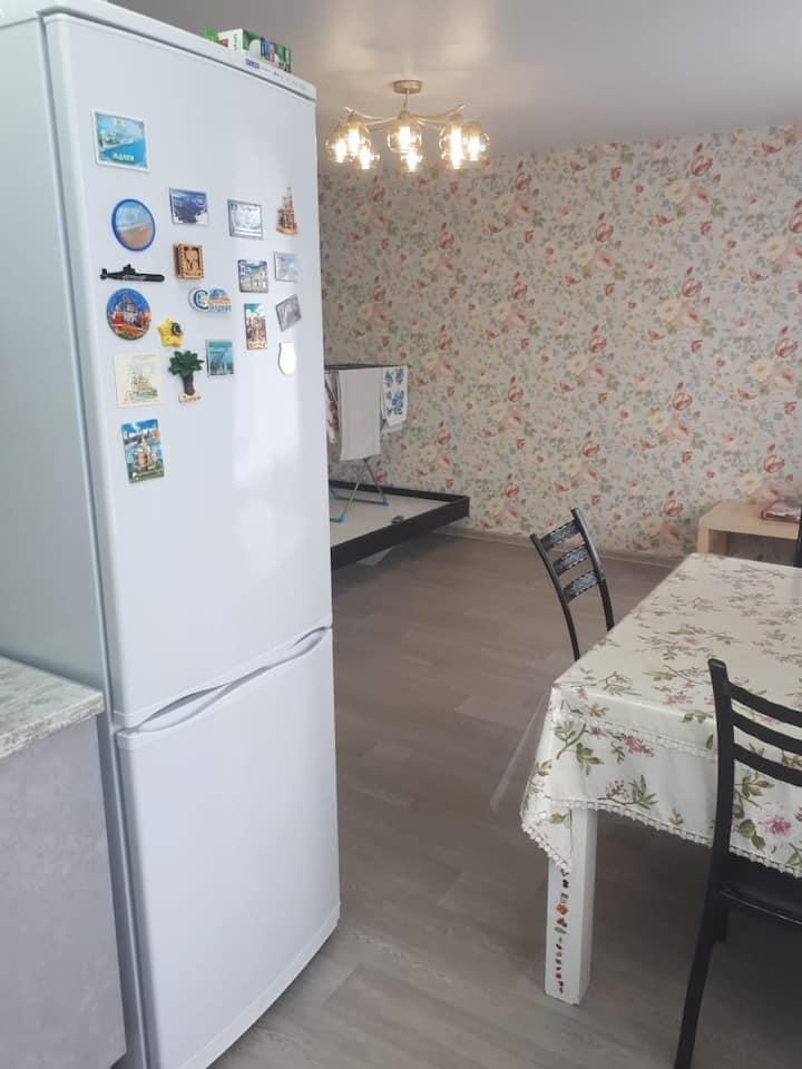 Уютная, чистая квартира. Удобная логистика.