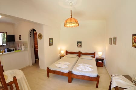 Alexandros Apartments & Studios (2-3 people) - Agios Gordios - Daire