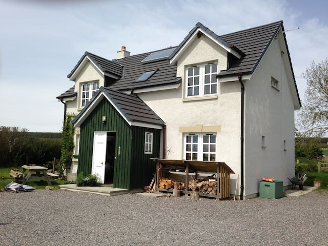 Share our rural self build home near Inverness. - Avoch