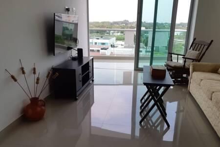 Encantador y novedoso apartamento
