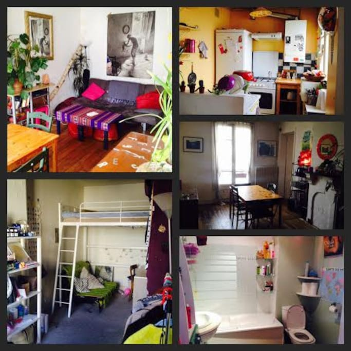 The room to rent is in the bottom left-hand corner of the picture :)