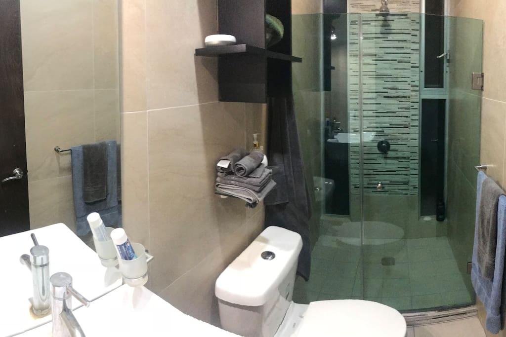 Baño completo (regadera lavabo y WC)