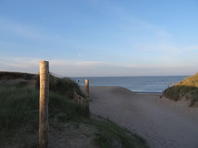 Bungalow confortable entre dunes et forêt