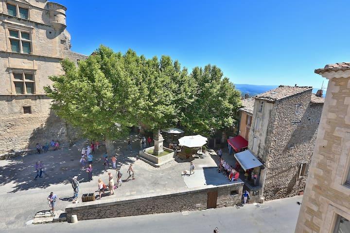"""""""PLATANE"""" in Gordes Provence Lubero - Gordes - Pis"""