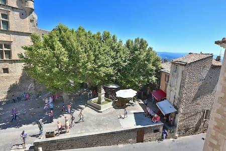 """""""PLATANE"""" in Gordes Provence Lubero"""