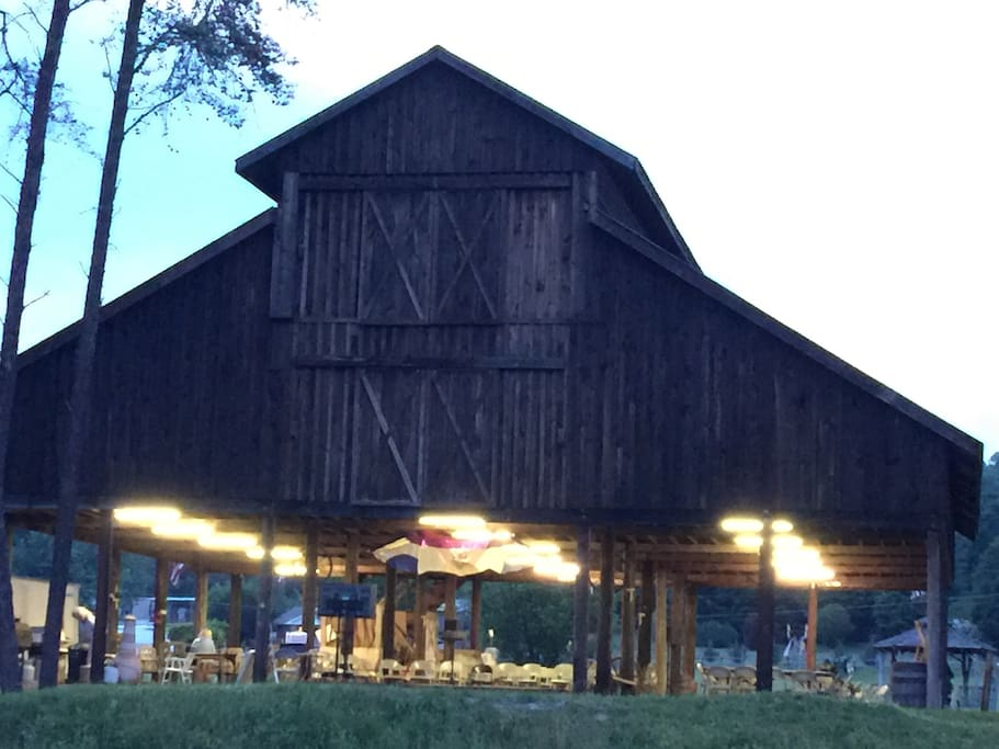 Our event barn available for your event.