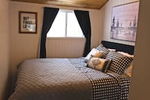Queen Bed with Armoire