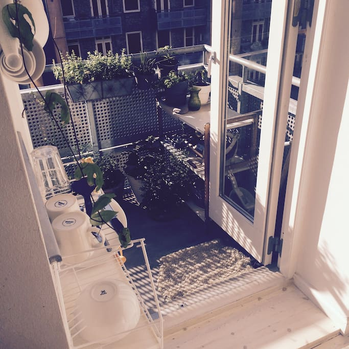 Balcony from kitchen