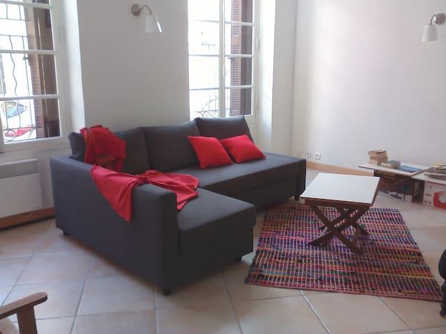Plage du Mourillon/ T3 sur jardin - Toulon - Apartmen