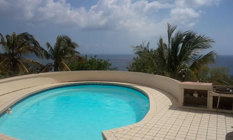 Newly refurbished pool.