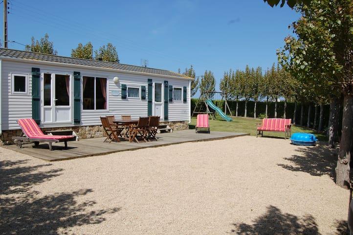 Mobl-home sur terrain privé - Plouescat - Chalet