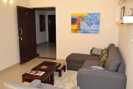 Modern 2 Bedroom Apt near Airport! - Bangalore - Pis