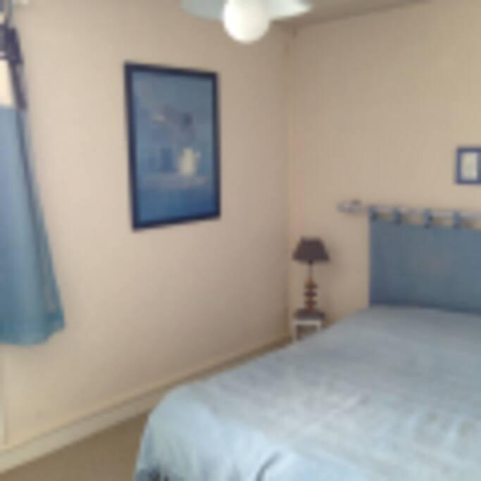 la chambre bleue vue mer
