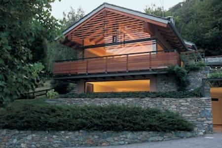 Una casa nel bosco - Sarre - Huoneisto