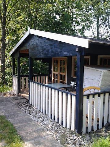 Luxe trekkershut met eigen badkamer - Oostwold Gem Oldambt - Cabin