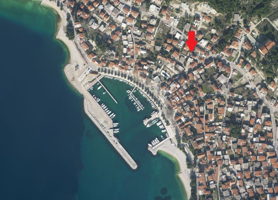 30 meters from beach