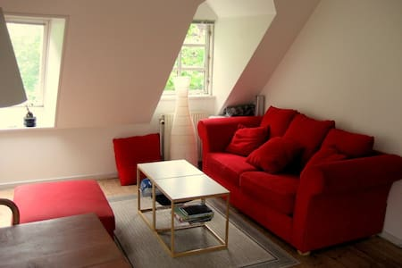 Quite attic flat (2rooms ca. 50sqm)