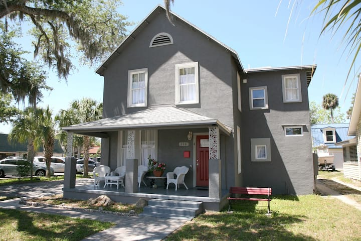 """""""NSB Uptown- Be Happy"""" Beautiful turn of the century home in the heart of NSB!"""