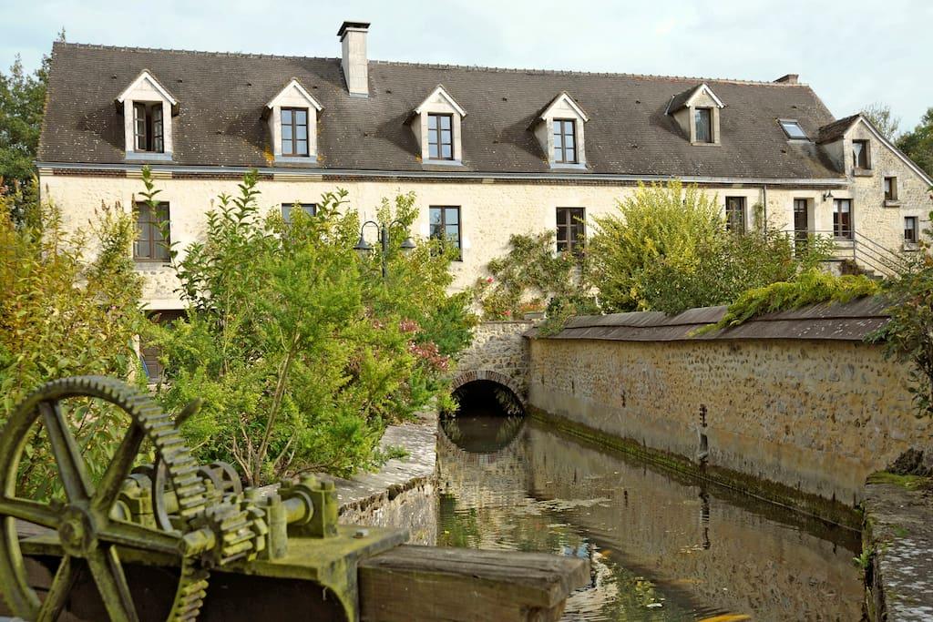 Le moulin de gemages chambres d 39 h tes louer g mages for Chambre d hotes basse normandie