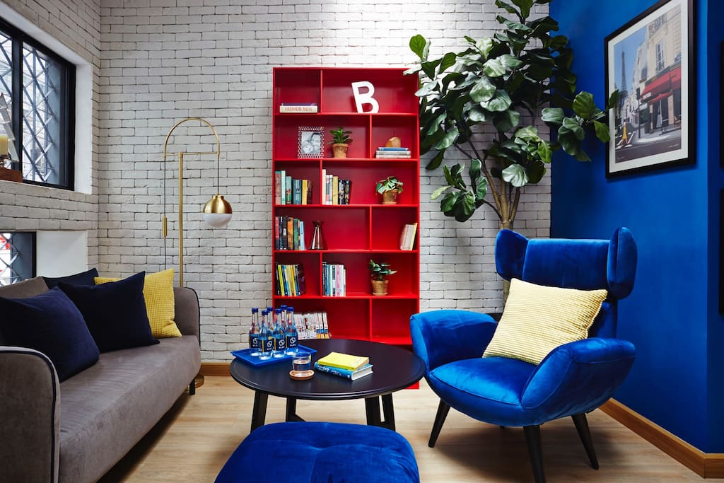 Common Space:  Living Room