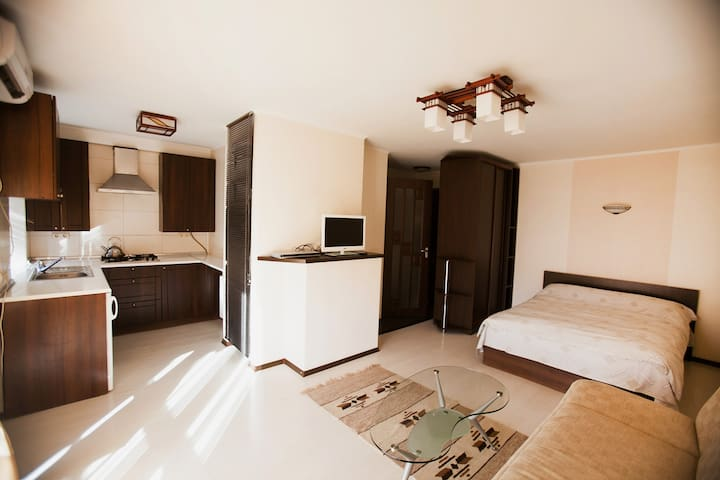 Комфортная квартира-студио в центре