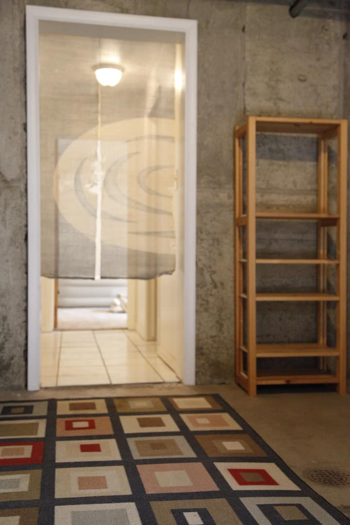 Downstair's Back to basic Zazen Room