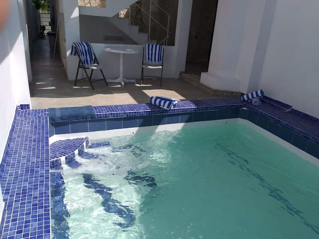 Newly remodeled private pool