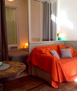 Grand studio de vacances à la mer - Mers-les-Bains - Appartement