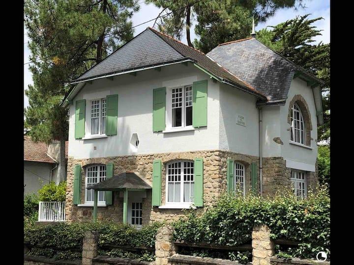 Charmante maison de famille au coeur de La Baule