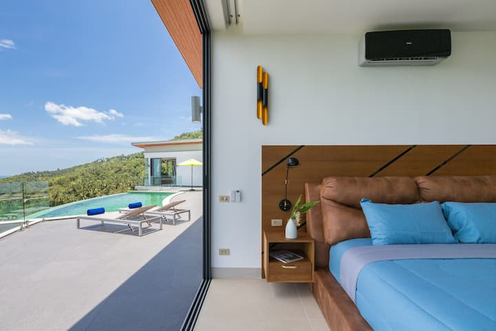 High End Villa 3BD with Seaview