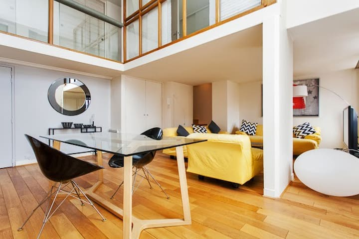 Paris 1930s loft: modern design - Paris - Loft
