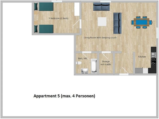 Ebersheim Plaza, Apartment 5