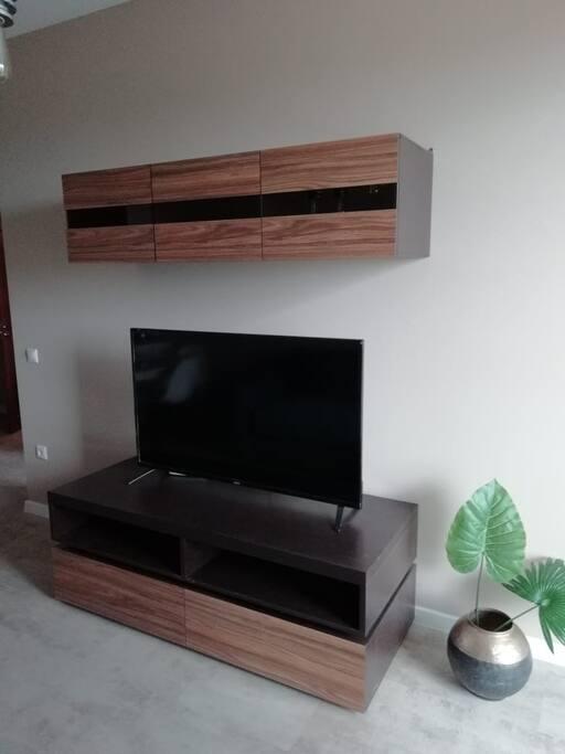 Телевизор с широкой диагональю