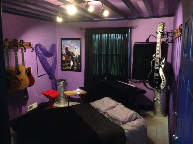 "MUSIC HOUSE ROOM! 2.7 Miles To Downtown! ""Hendrix"" - Nashville - Dům"