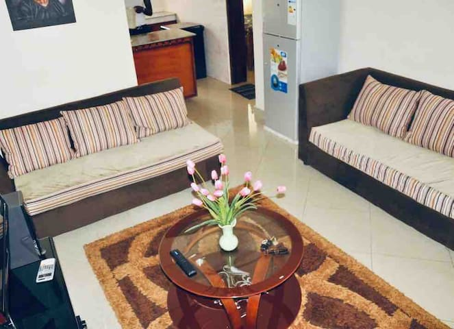 3BR and 2 bathroom apartment with Wi-Fi