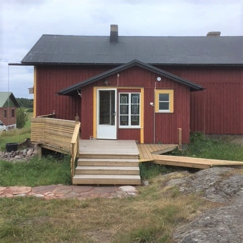 Kökar, Renovated fisherman's house