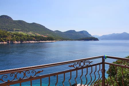 Sea View Apartment for 4 persons - Trstenik