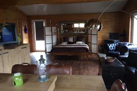 Ferienhaus Heides Hütte 9 am Waldsee Rieden  Eifel - Rieden - Dům